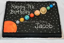 solar system cake ideas