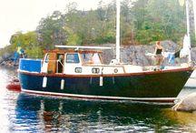 Boat, ocean, love
