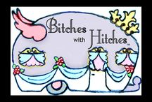 Bitches with Hitches / Find us on Facebook! Were a group of passionate bitches with a  LOVE of vintage trailers.We would love to have you!!