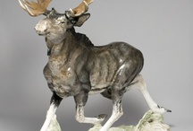 Porcelain Wild animals