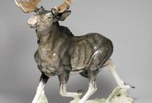 Porcelain Wild animals