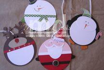 zima a vánoce / vánočních dekorací