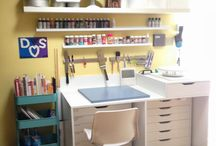 craft room organisation