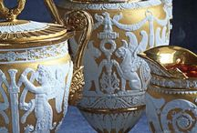 Tableware / Luxury tableware has experienced tremendous changes throughout the years, why not take a look back to understand where it all began? Can you imagine indulging into Iranian caviar, being served in a 200 year-old sterling silver centerpiece? Do you feel like stepping back in time?