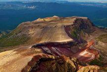 Mount Tarawera on the North Island, #New #Zealand #HeathrowGatwickCars.com