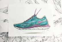 my Footwear sketching / It's all about my life