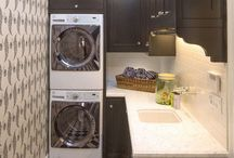 Galley kitchen/laundry
