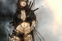 Pictures of Luise Royo / Those are the once I really like for a very long time now  They can be found here  http://http://www.luisroyo.com