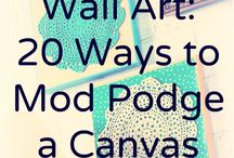 Mod Podge / by Sunflower Fibers