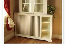 Cool Radiator Covers / Vintage steam heat is warming and adds humidity in the dry winters, but they take up so much room!