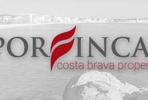 Porfinca / Nova #imatge #corporativa per Porfinca i #retolació del local