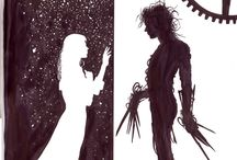tim burton art ❤