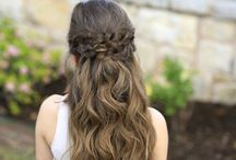 Cute Hairstyles For Girls / Super cool and cute hairstyles for girls with short, medium and long hair with images for inspiration. Get your daughter ready with these cut hairstyles. - http://beautifieddesigns.com/cute-hairstyles-girls/