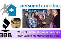 Torch Award / PCI is the 2013 WINNER of The Better Business Bureau of Central NC's Torch Award for Marketplace Ethics!