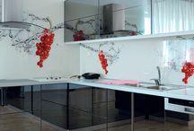 Kitchen Glass Splashback