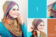 Cara Memakai Jilbab / Tutorial jilbab syar'i yang modis