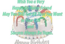 Birthday Wishes For Friend / Best Funny Happy Birthday Wishes for Friend with Quotes and Images. Sweet, Short and Special birthday wishes for male and female friends to celebrate. - http://www.goodmorningquote.com/happy-birthday-wishes-for-friend/