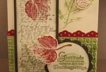 Fall Themed Cards