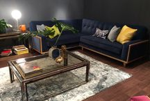 Dramatic Darks / Beautiful bold hues of forest green, midnight blue and deep charcoal can transform a space into something sophisticated and intimate. There's never been a better time to take the leap of faith with this dramatic look as the trend is set to illuminate the interiors world for 2016.