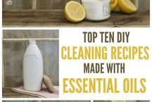 Cleaning Recipes/Essential Oils