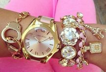 My style: Jewelry / Like any other girly girl I love accessorizing. Here is my style. <3