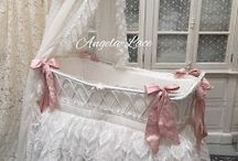 DREAMY LACE WORK / FOR BABY AND THE ROMANTIC HOME