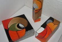 Scatole dipinte