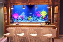Home Design - Bar / Great design ideas for a home bar.