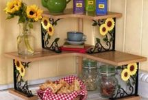 Sunflower Decor / by Linda N Danny Polk