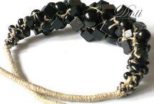 Linen jewellery / Linen jewllery - inspirations