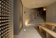 Winery cellars