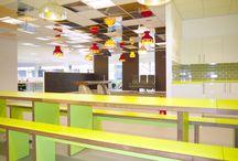 Office Lighting / Creative lighting ideas for office designs