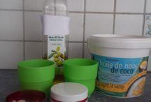 comestiques/produits maison