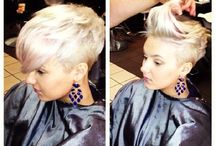 hairstyles.. / by Claire Davies
