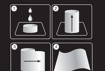 Como funcionan las Toallitas húmedas comprimidas  / Técnicamente se trata de unas servilletas de Viscosa 100% naturales y biodegradables, liofilizadas y reducidas a los mínimos términos, igual que un comprimido. La magia empieza cuando entran en contacto con el agua y crecen un 400% en pocos segundos