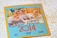 Carte de voeux magnet 2015 / Créez vos carte de voeux et de Noël pour 2015 sur un support magnet