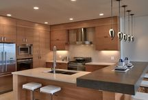 """St Michaels Kitchen / This board is to stimulate ideas for design/ layout  of kitchen, island in particular  .. these photos don't represent the """"style"""" of kitchen .."""