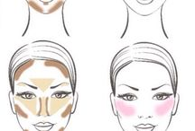 Make up contours