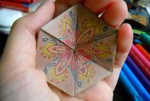 órákra origami  játékok