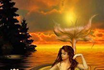 Mermaids / the wonderful world of fantasy