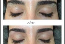 BEFORE AND AFTER FACE & EYEBROW THREADING