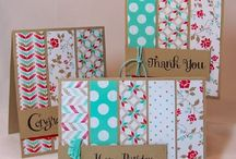 Cards & more - Using Scraps / Card ideas using scraps and making the most of your Stampin' Up! supplies