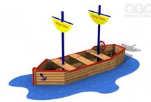Timber Play Boats / Ahoy there matey! Our Timber play boats encourage role play based imaginative play, as well as physical activity. They can be custom made for your needs or that of your school too!