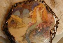 mermaids / by lynda collins