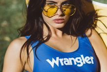 Wrangler SWIM / This summer we strip off our denim, and take it to the sea.    Here's to hot days, warm nights and the all-new Wrangler Swim.