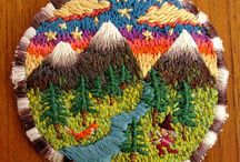 BRODERIE  ARCHI PAYSAGE