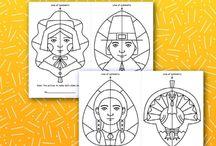 Simmetriese oefeninge teken
