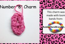 Loom Band Charms / This is a collect of loom band charms.