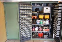 Garage/Craft Room Ideas / by Candy Nichols