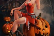 Čarodějnice Čerti Halloween